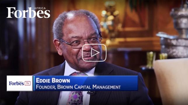 Eddie Brown at Forbes